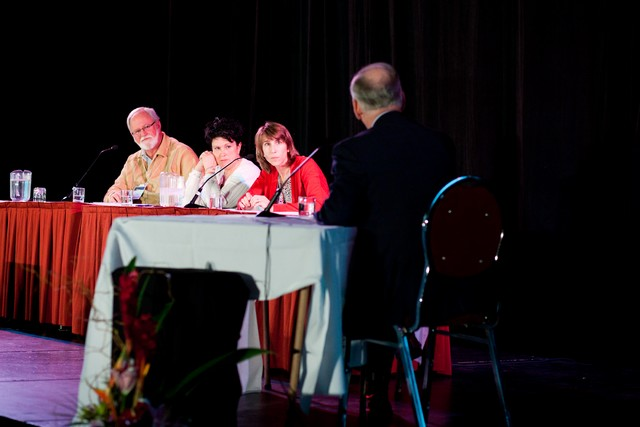 Denis Charland, Josée Caouette, Annie Gauthier et Michel Clair